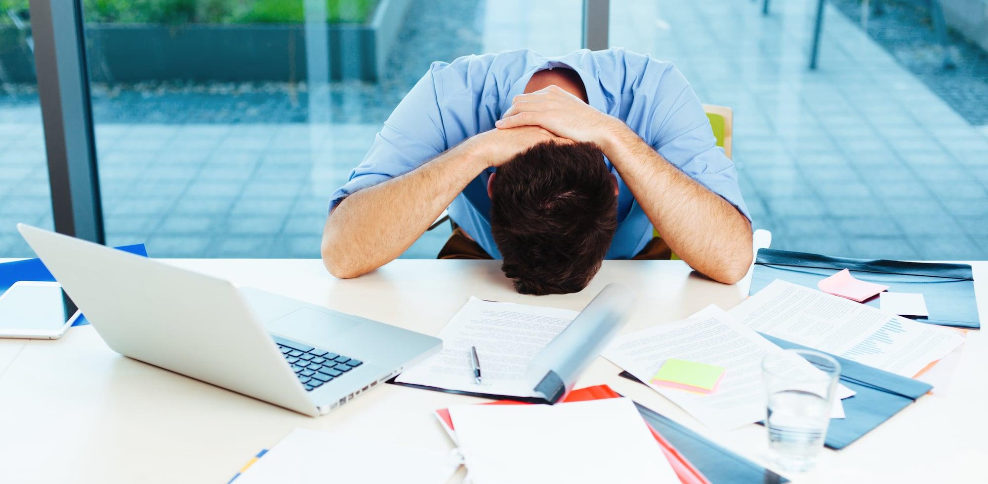 frustración del profesional de marketing digital